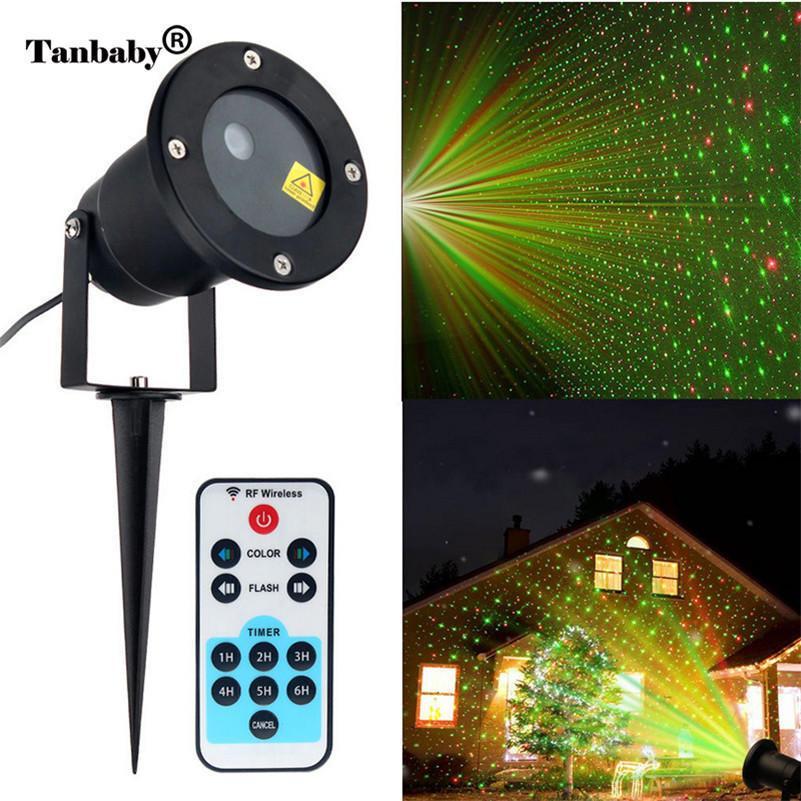 Лазерный проектор-освещения STAR SHOWER