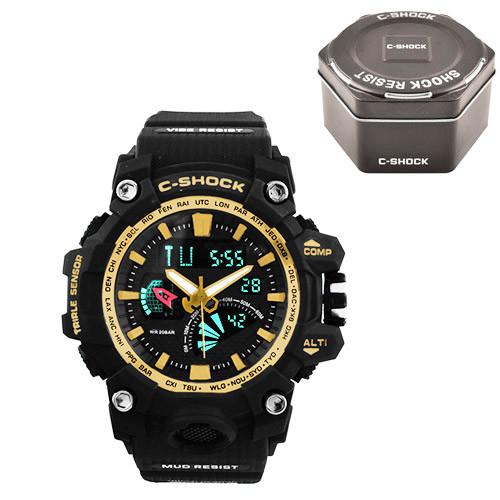Часы наручные C-Shock GW-3000 Black-Gold+Box