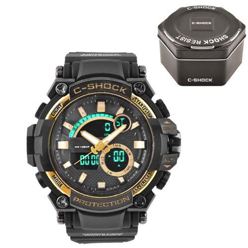 Часы наручные C-Shock GW-3500 Black-Gold+Box