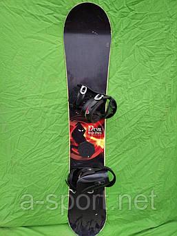 Сноуборд бу Devil Wild duck 157см + кріплення