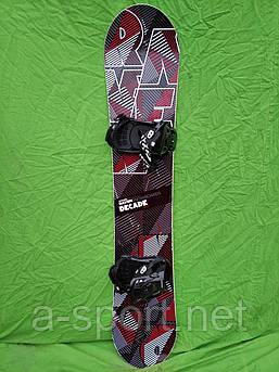 Сноуборд Raven Decade163 см + кріплення raven