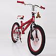 """Велосипед для трюков""""BMX-20"""" Красный, фото 4"""