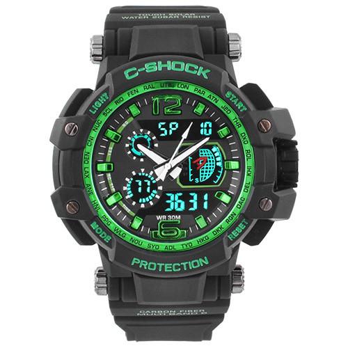 Часы наручные C-Shock GW-4000 Black-Green
