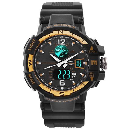 Часы наручные C-Shock GWA-1100 Black-Gold
