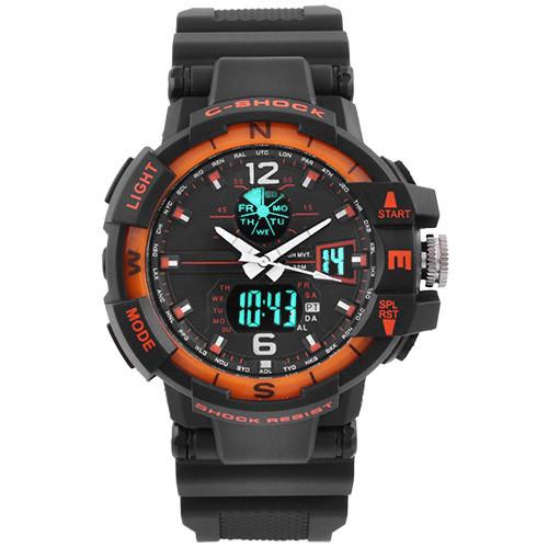 Часы наручные C-Shock GWA-1100 Black-Orange