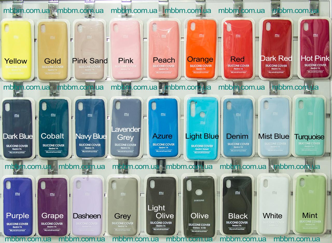 Чехлы для Samsung Galaxy A10s Original Soft фиолетовый