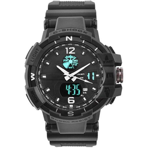 Часы наручные C-Shock GWA-1100 Black-Silver