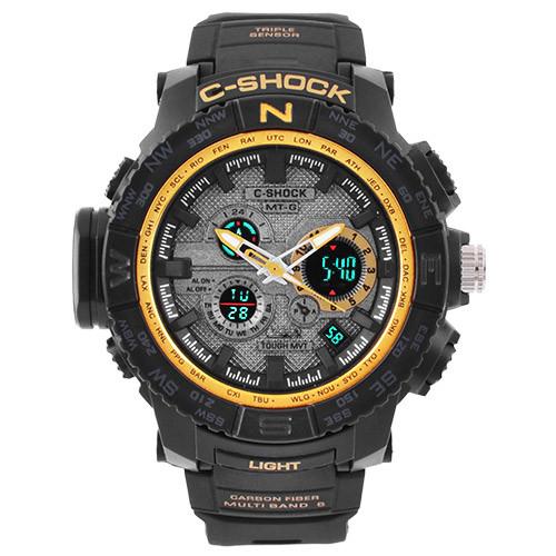 Часы наручные C-Shock MTG-S1000 Black-Gold