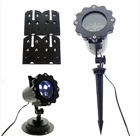 Лазерный проектор подсветка для дома Laser Projector Lamp 4 картриджа