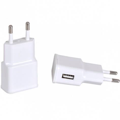 Сетевой USB адаптер 2.0 А (10-прямоугольный), фото 2