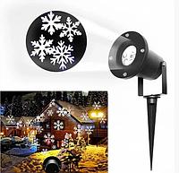 Лазерный проектор для дома Star Shover Снег Snowflake №608 ZP