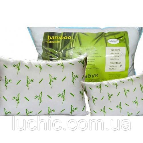 Подушка бамбукова 50х70 см в асортименті