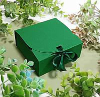Коробка 115х115х50 мм зелена