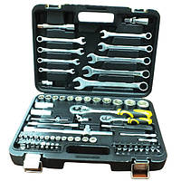 Набор ручных инструментов 82 шт Сталь AT-1218  (70008)