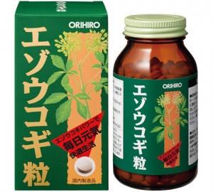 Orihiro элеутерококка экстракт 400 табл на 40 дней