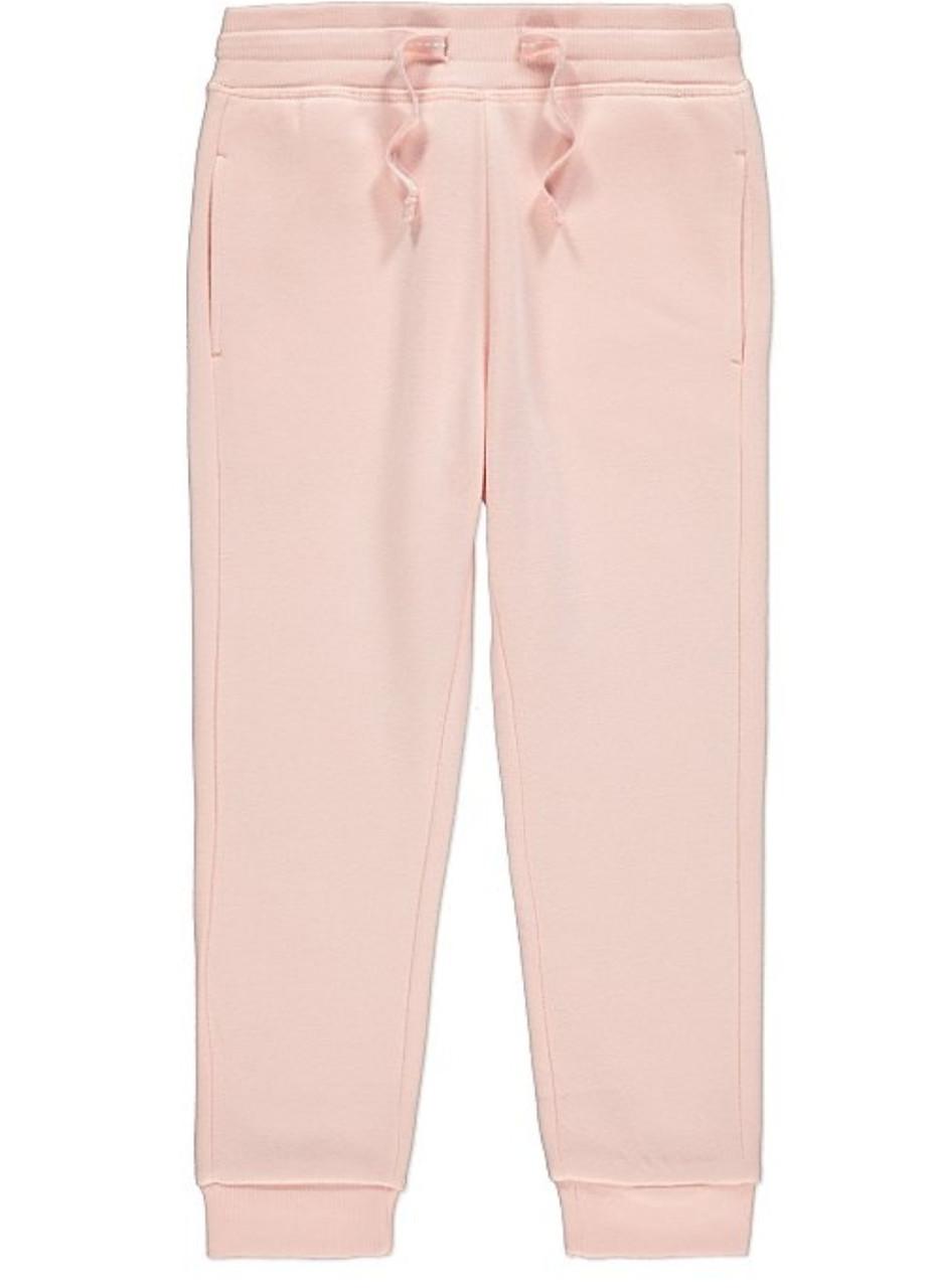 Спортивные штаны для девочек  пудровые George (Англия) 92/98см