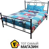 Комплект постельного белья евро 205x225 см полиэстер голубой Руно 845.52 Звезда Остра 70x70см, евро