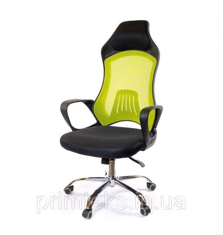 Кресло Дорос CH ANF чёрно-салатовый