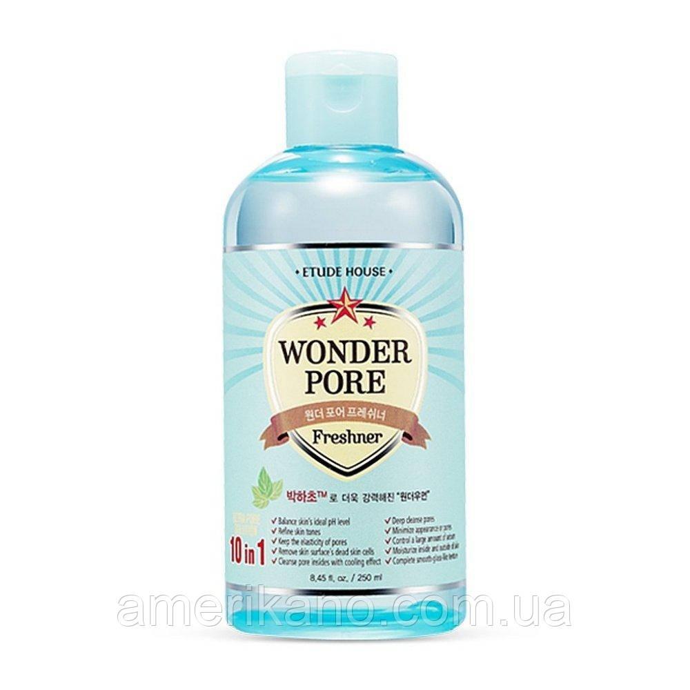 Универсальный тонер 10-в-1 ETUDE HOUSE Wonder Pore Freshner, 250 мл