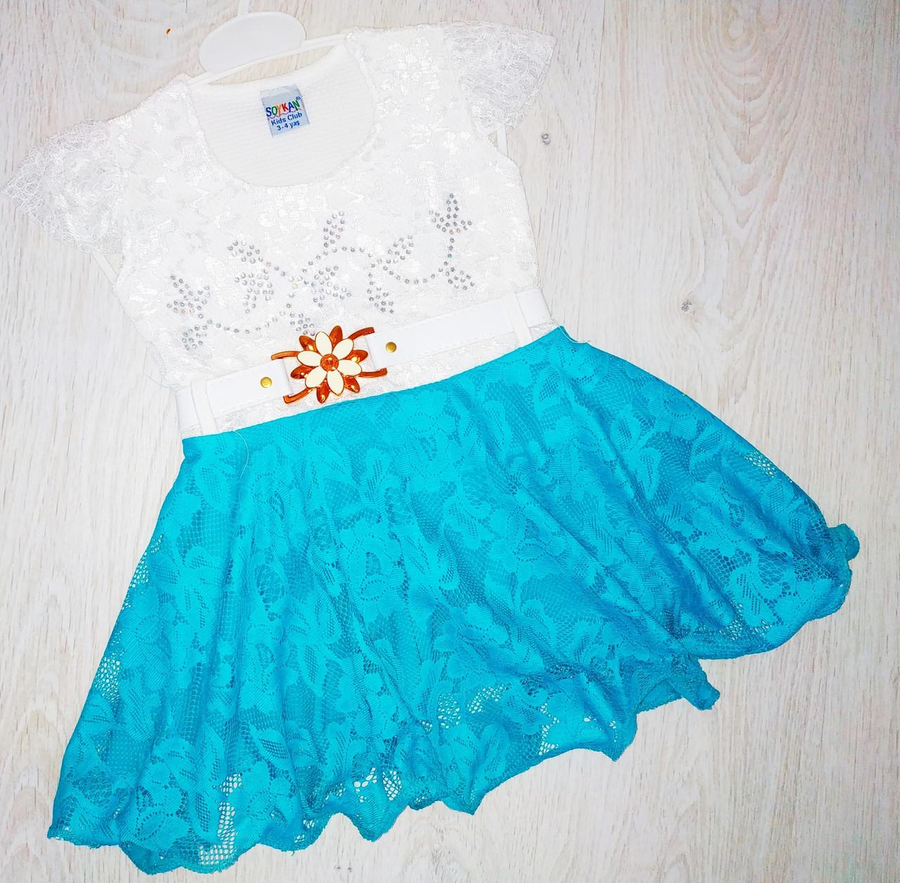 Платье для девочки, Турция, Babexi, арт. 7560, 86-104 см