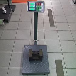 Усиленные рифленные товарные весы TCS-B 300 кг (400х500мм)