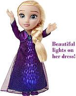 Большая поющая кукла Эльза в светящимся платье Холодное Сердце 2 Disney Frozen 2 Elsa  Фрозен 2