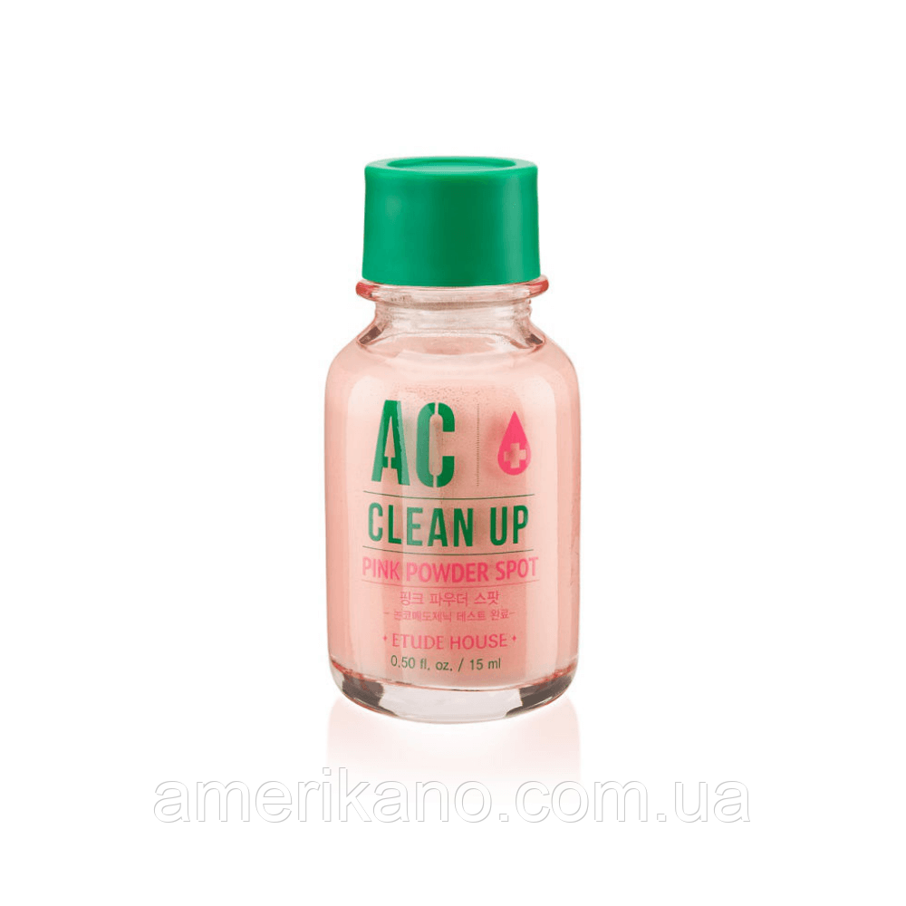 Точкове засіб для боротьби з акне ETUDE HOUSE AC Clean Up Pink Powder Spot, 15 мл