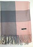 Шарф большой Розовая пудра 175 * 70, фото 2