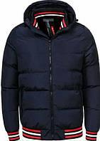 Куртка glo story мужская синяя осень-весна
