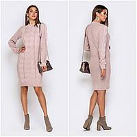 Платье молодежноестильноеразмер универсальный44-52, розового цвета