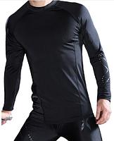 Комплект мужской компрессионной одежды 2XU для тренировок (рашгард+лосины) черный