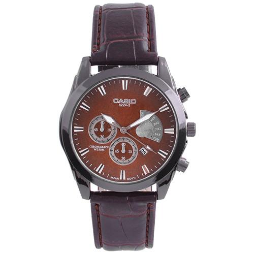 Часы наручные мужские 6112/8224-2 Casio Brown BK-BR (копия)