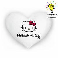 "Подушка-ночник ""Hello Kitty"". Светящаяся подушка"