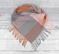 Кашемировый платок в клетку Cashmere 7980-6, фото 1