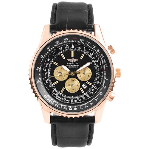 Часы наручные мужские 5074-T Breitling Black (копия)