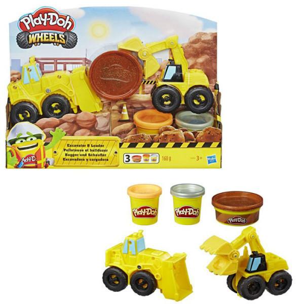 Play-Doh игровой набор город Экскаватор E4294 Wheels Excavator set