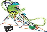 K'NEX Конструктор Нападение Ящерицы очки виртуальной реальности 15146 Thrill Rides Twisted Lizard Roller Coaster Building Set