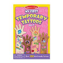 Melissa & Doug Мои первые тату для девочки 100+ My First Temporary Tattoos 100+ Kid-Friendly Tattoos
