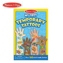 Melissa & Doug Мои первые тату для мальчика 100+ My First Temporary Tattoos 100+ Kid-Friendly Tattoos