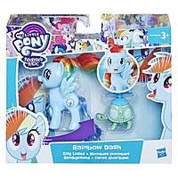 My Little Pony Впечатляющая Рэйнбоу Деш радуга E0186 E2567 Rainbow Dash Fashion Doll