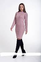 Платье молодежноестильноеразмер универсальный44-52, сиреневого цвета