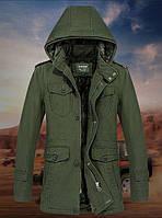 Ruidu original 100% хлопок Мужская куртка еврозима, фото 1