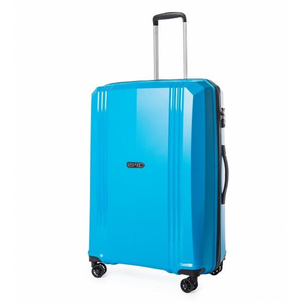 Чемодан дорожный на колёсах Epic Airwave VTT SL (L) Blue Jewel, 108 л. (750х530х300 см.)