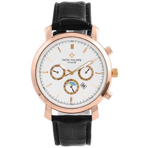 Часы наручные мужские 7660 Patec Philippe White G-Bk (копия)