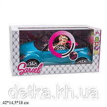 Кабриолет для куклы 6633-C с куклами 29см батар.муз.свет.