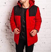 ЛЮКС! Парка мужская зимняя в стиле Puma Х RED до -30°С   куртка мужская зимняя