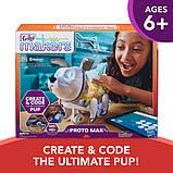 FurReal Friends Интерактивная программируемая собака Макс C0399 Makers Proto Max Interactive Pet Toy, фото 2