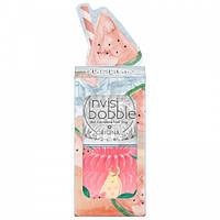 Резинка-браслет для волос Invisibobble Happy Hour Smooth Melons набор 6 штук