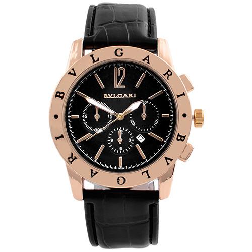 Часы наручные мужские 8031 Patek Philippe Black G-Bk (копия)