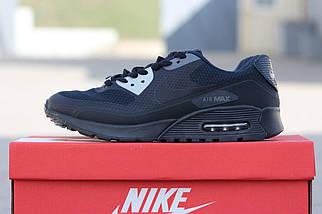 Мужские кроссовки летние темно синего цвета, фото 3